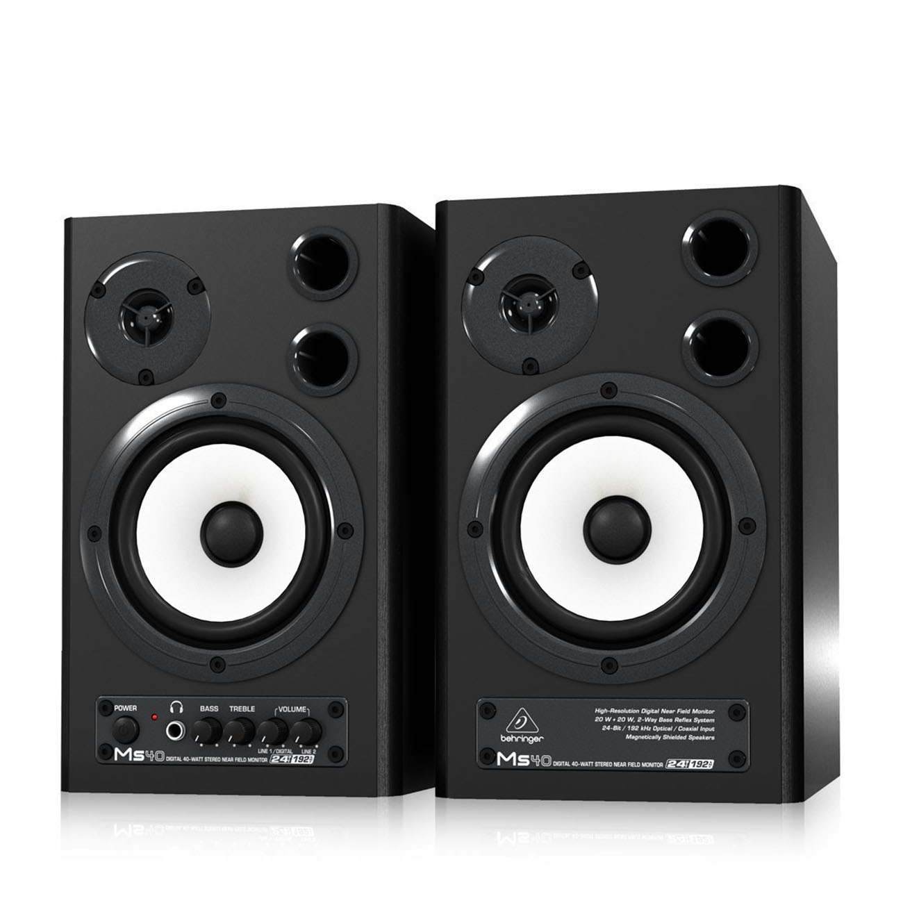 Monitores estudio Behringer MS40