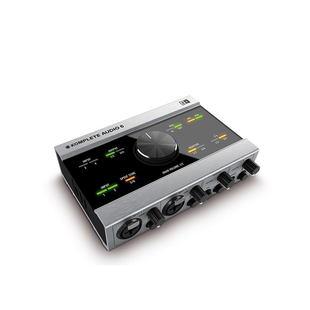 Native Instruments Komplete Audio 6 - Interfaz audio